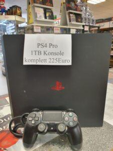 Ps4 1Tb Pro Konsole komplett 225 Euro.
