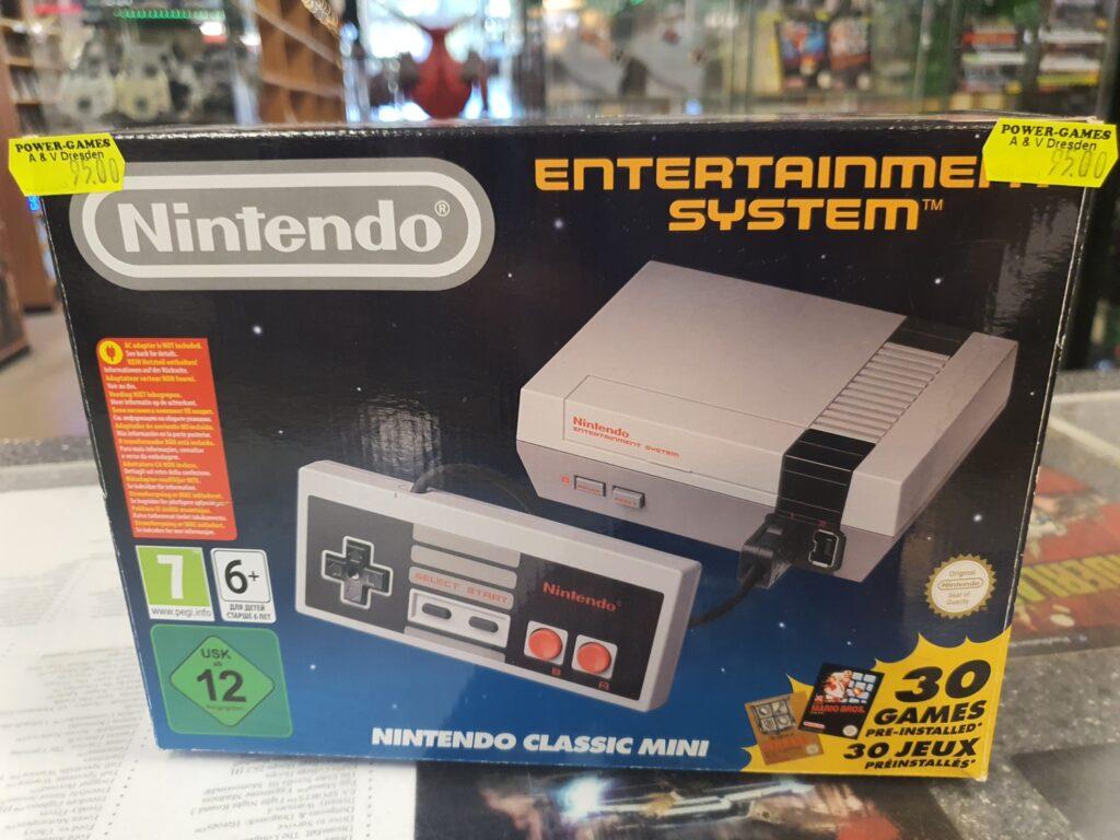 NES Mini Konsole wieder da.