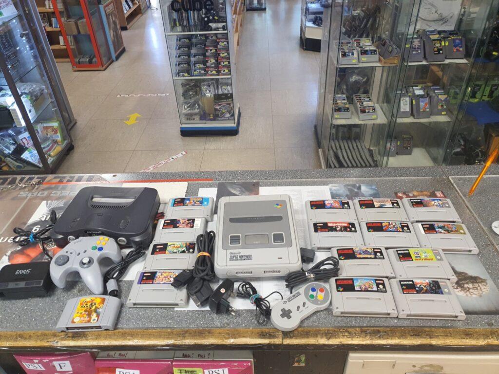 Ankauf von Nintendo Set